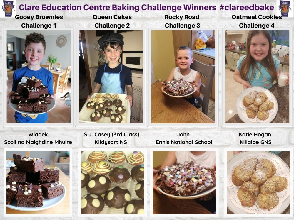 Clare Education Centre Challenge Winners