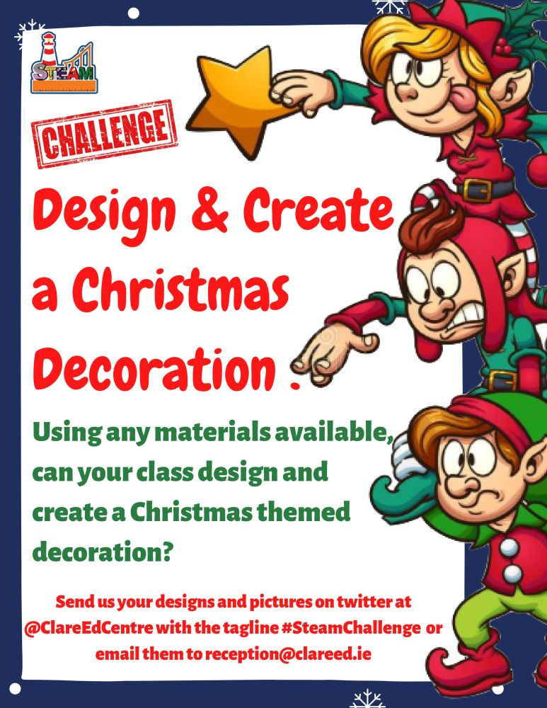 Design and Create a Christmas Decoration (a Clare ...