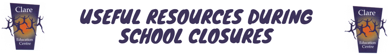Useful Resources during school closures 2021