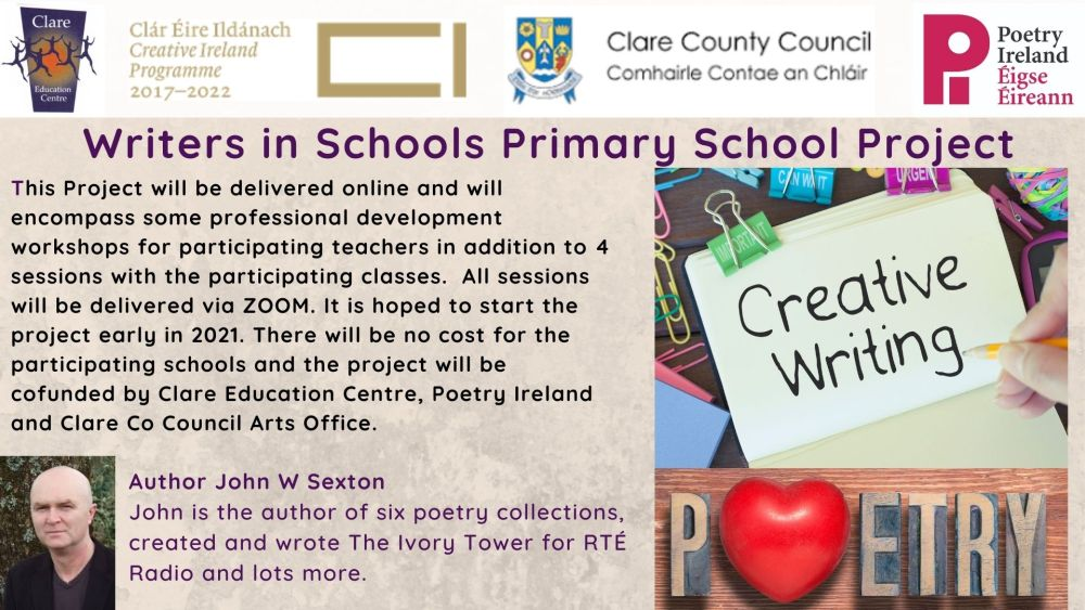 Creative Writing Residencies for Primary Schools 2...