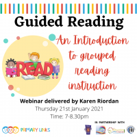 Webinar – Guided Reading – An introduction to grouped reading instruction