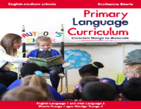 Primary Language Curriculum Professional Learning Community Meeting - January 22nd
